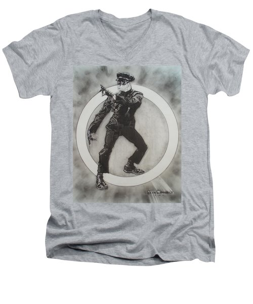 Bruce Lee Is Kato 3 Men's V-Neck T-Shirt by Sean Connolly