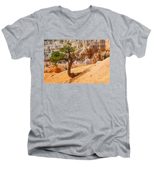 Bryce Canyon Np Men's V-Neck T-Shirt by Juergen Klust