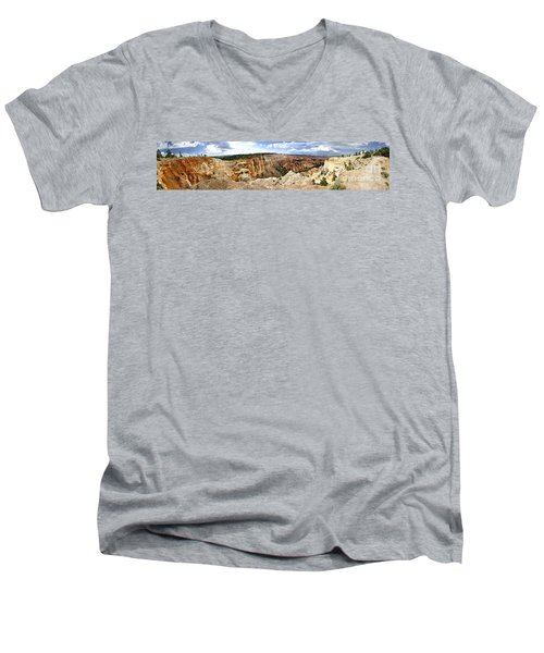Bryce Panoramic Men's V-Neck T-Shirt