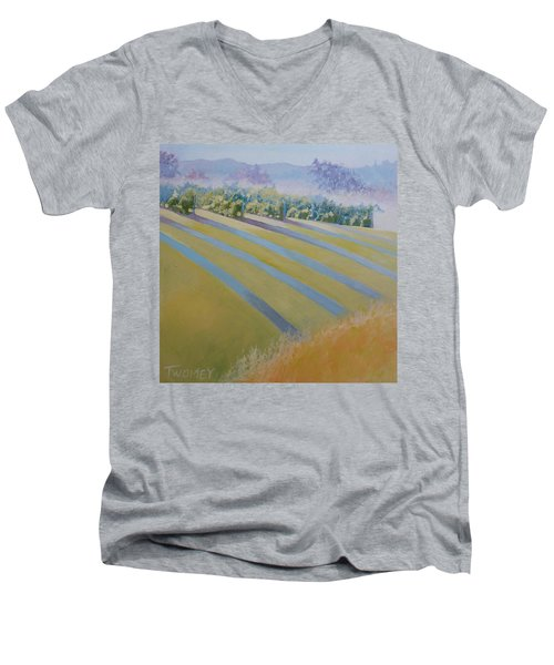 Buck Mountain Vineyards No.2 Men's V-Neck T-Shirt