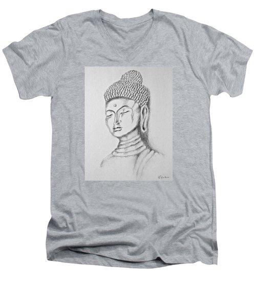 Buddha Study Men's V-Neck T-Shirt