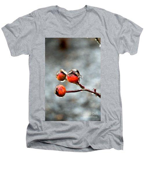 Buds On Ice Men's V-Neck T-Shirt