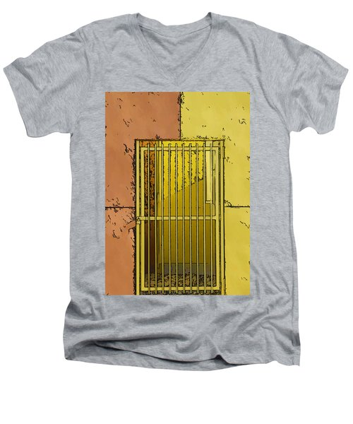 Building Access Denied Men's V-Neck T-Shirt