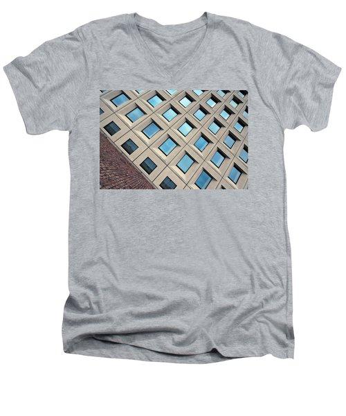 Building Of Windows Men's V-Neck T-Shirt