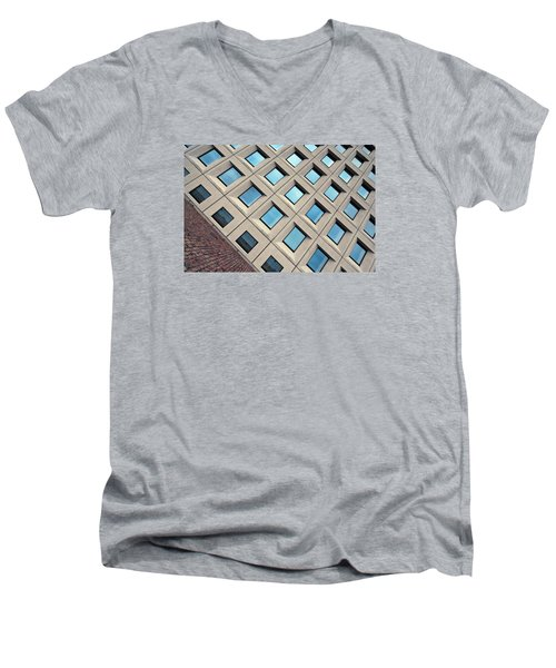 Building Of Windows Men's V-Neck T-Shirt