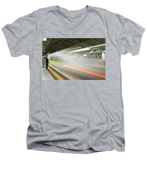 Bullet Train Men's V-Neck T-Shirt