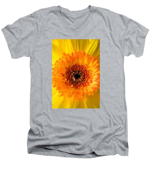 Burst Of Sunshine Men's V-Neck T-Shirt by Shelby  Young