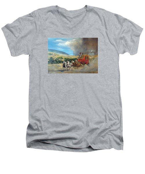Business As Usual Men's V-Neck T-Shirt