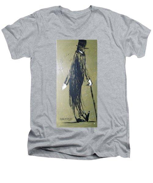 Business Man Men's V-Neck T-Shirt