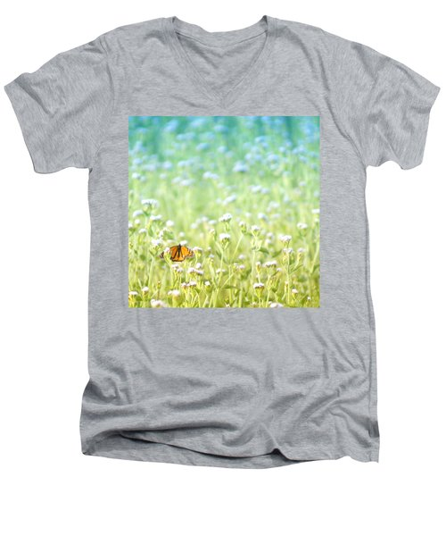 Butterfly Dreams Men's V-Neck T-Shirt