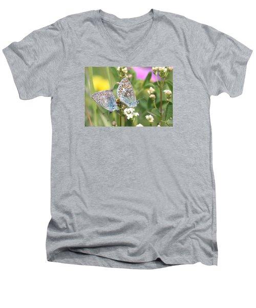 Butterfly Lovers Men's V-Neck T-Shirt