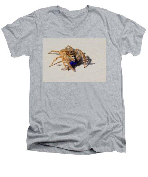 Buzzed Out Men's V-Neck T-Shirt