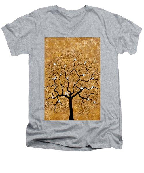 By The Tree Men's V-Neck T-Shirt