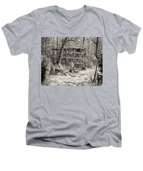 Bygone Days Men's V-Neck T-Shirt by William Beuther