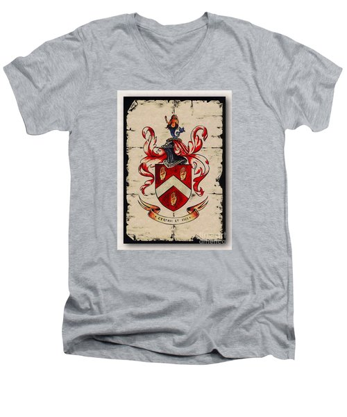 Byrne Coat Of Arms Men's V-Neck T-Shirt