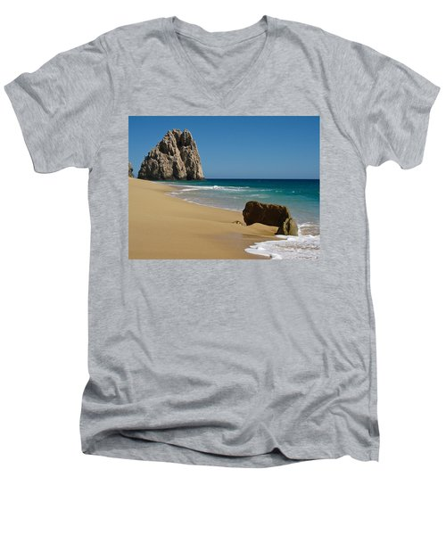 Cabo San Lucas Beach 1 Men's V-Neck T-Shirt