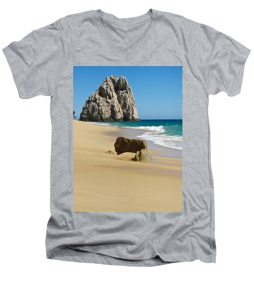 Cabo San Lucas Beach 2 Men's V-Neck T-Shirt