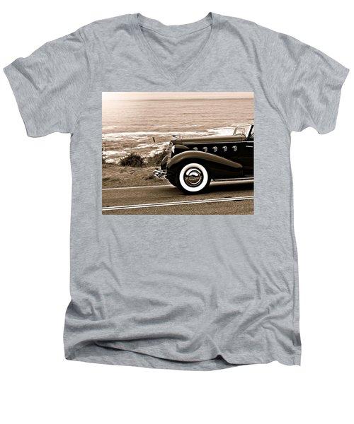 Lasalle On The Coast Men's V-Neck T-Shirt