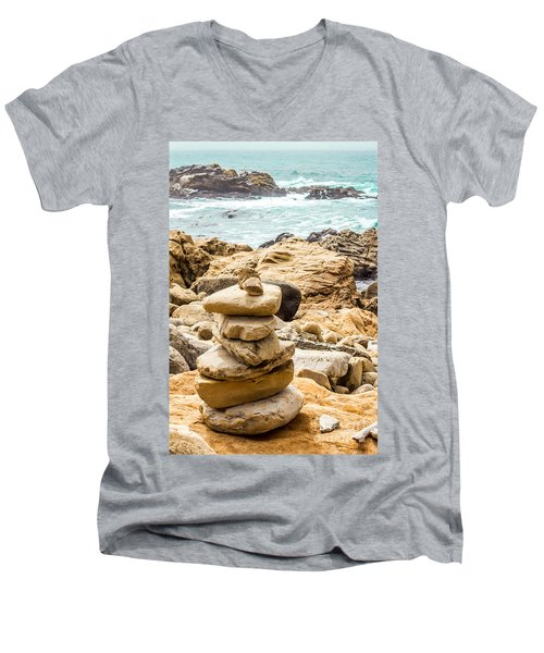 Cairn Men's V-Neck T-Shirt
