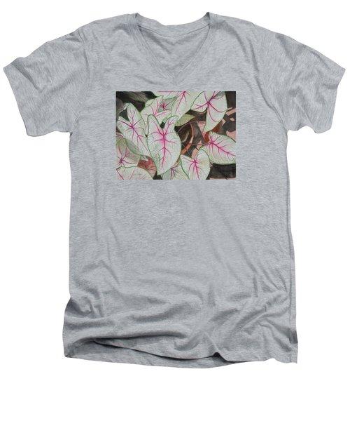 Caladiums Men's V-Neck T-Shirt