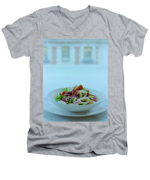 Calamari Salad Men's V-Neck T-Shirt