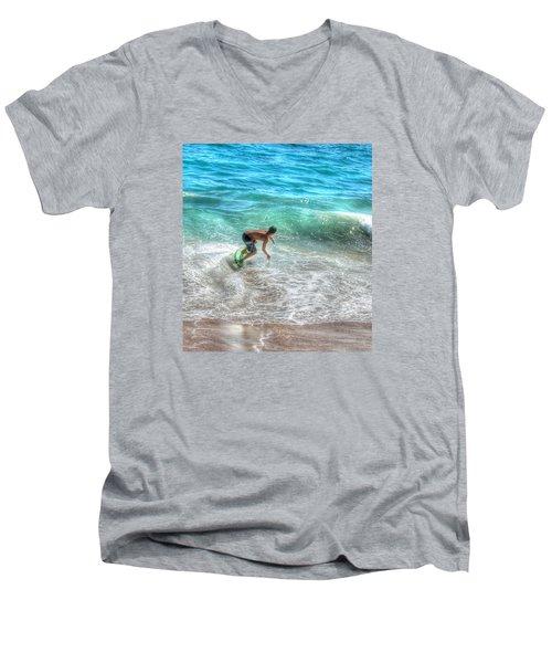 California Boogie Men's V-Neck T-Shirt