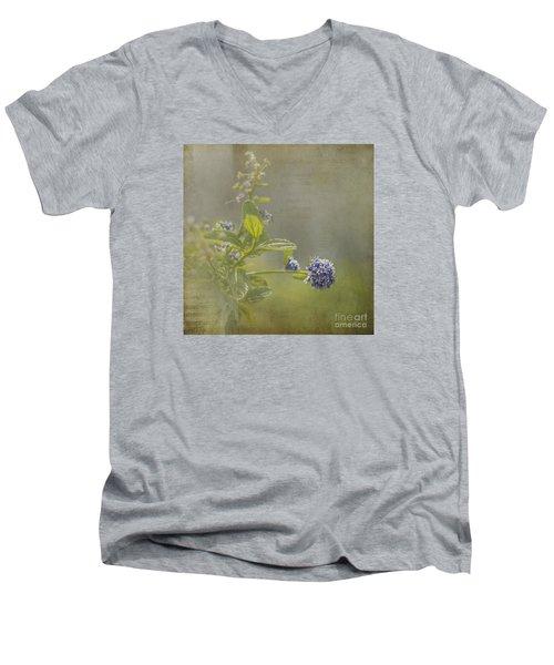 California Lilac Men's V-Neck T-Shirt