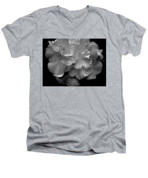 Camelia Men's V-Neck T-Shirt