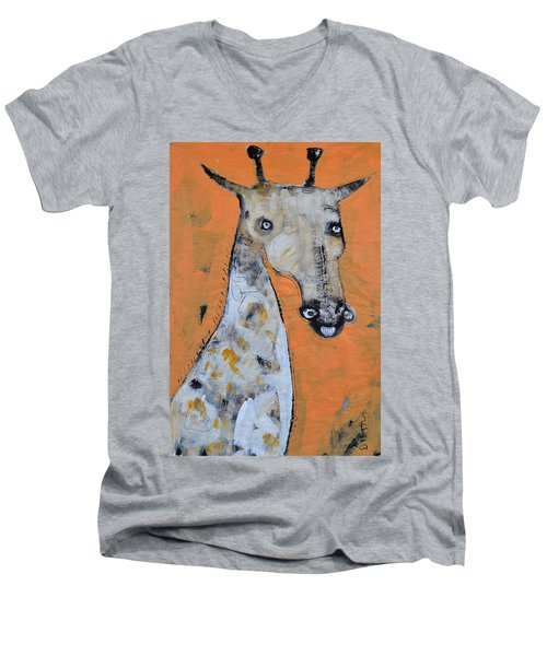 Camelopardus Men's V-Neck T-Shirt