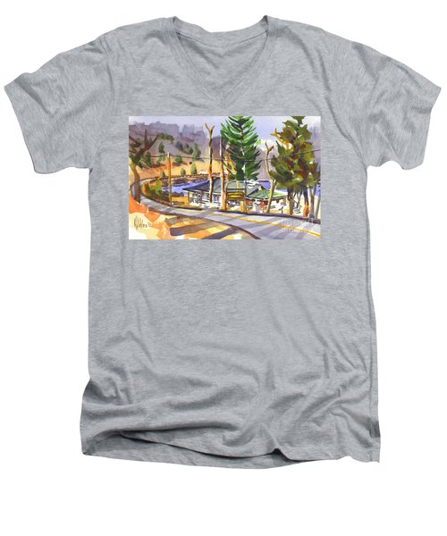 Camp Penuel At Lake Killarney Men's V-Neck T-Shirt