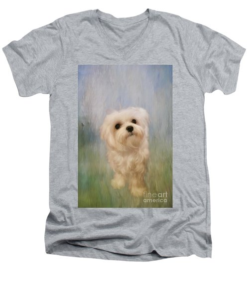 Can We Play Now Men's V-Neck T-Shirt