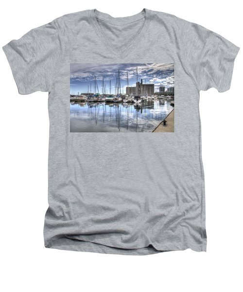 Canada Malting Co Limited Men's V-Neck T-Shirt
