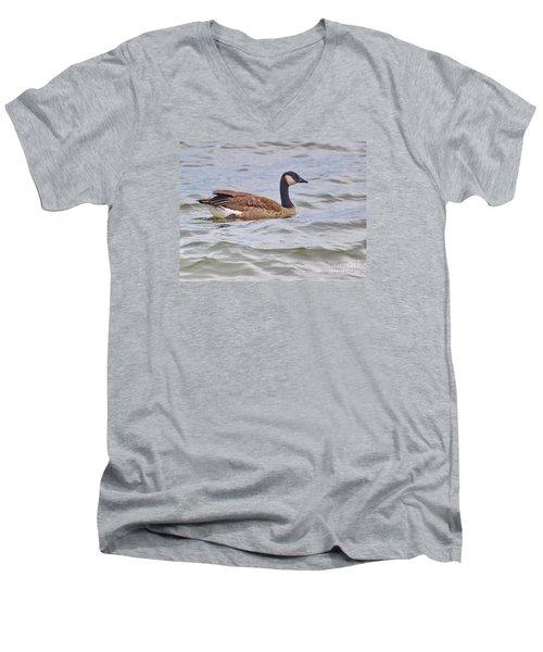 Canadian Eh Men's V-Neck T-Shirt