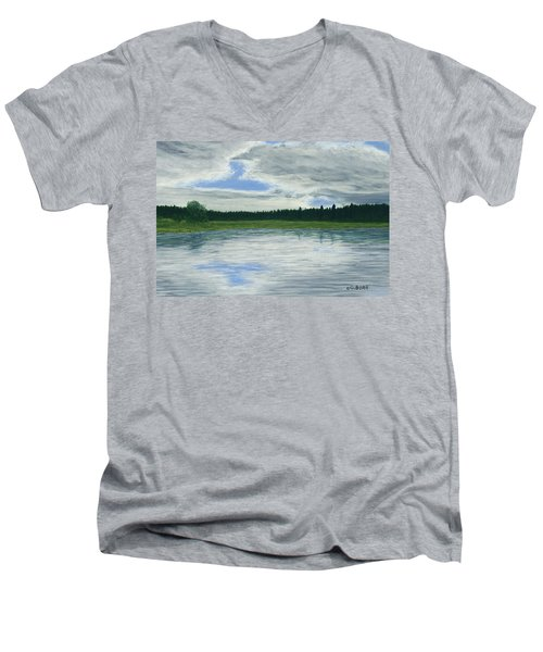 Canadian Serenity Men's V-Neck T-Shirt