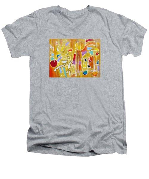 Candy Shop Garnish Men's V-Neck T-Shirt