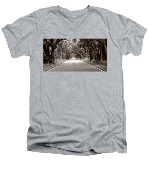 Canopy Of Trees Men's V-Neck T-Shirt