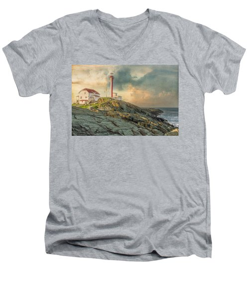 Cape Forchu  Men's V-Neck T-Shirt