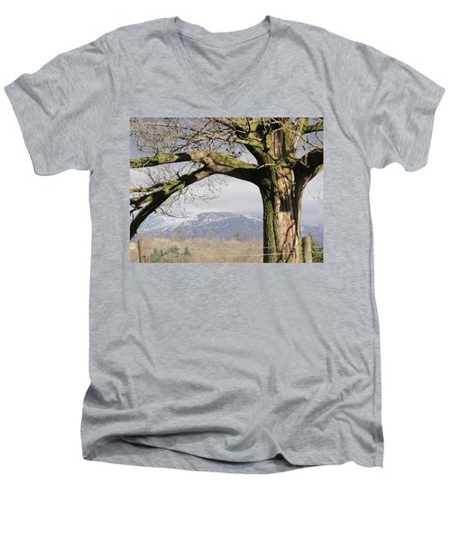 Men's V-Neck T-Shirt featuring the photograph Capture The Moment by Tiffany Erdman
