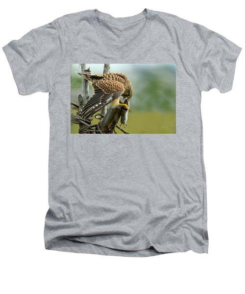Captured II Men's V-Neck T-Shirt