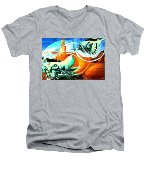 Car Fandango - Modern Art Men's V-Neck T-Shirt