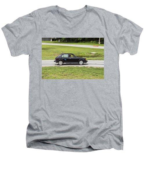Car No. 76 - 04 Men's V-Neck T-Shirt