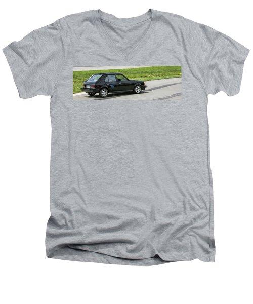 Car No. 76 - 08 Men's V-Neck T-Shirt