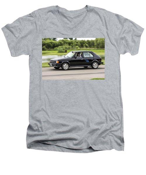 Car No. 76 - 01 Men's V-Neck T-Shirt