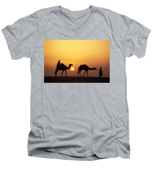 Caravan Morocco Men's V-Neck T-Shirt