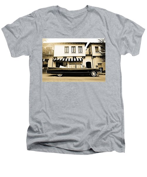Carmel Cadillac Men's V-Neck T-Shirt