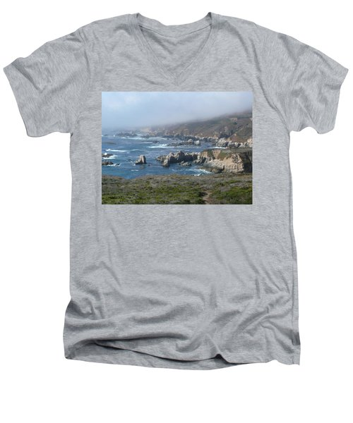 Carmel Coast Men's V-Neck T-Shirt