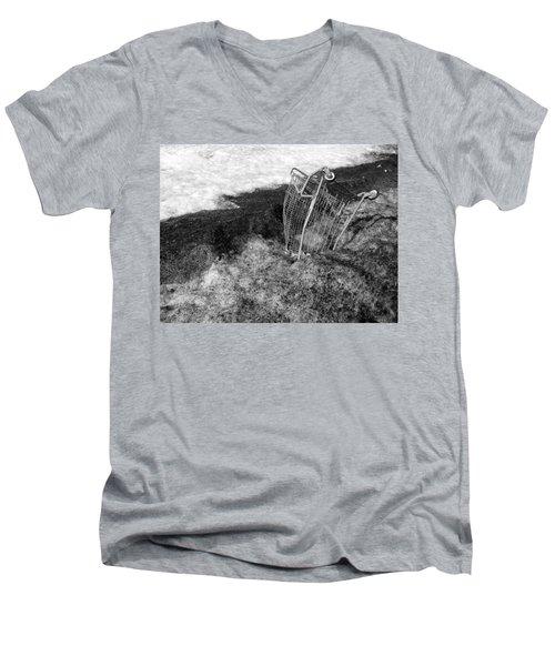 Cart Art No. 9 Men's V-Neck T-Shirt