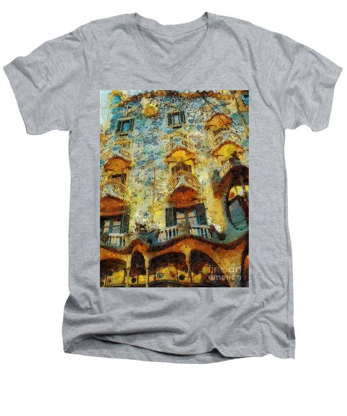Casa Battlo Men's V-Neck T-Shirt