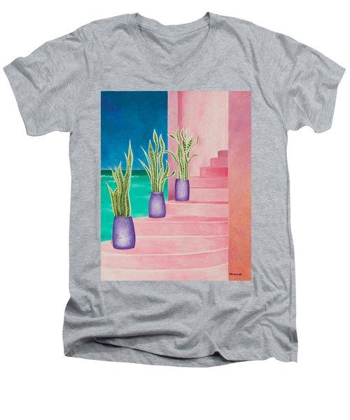 Casa Rojas Men's V-Neck T-Shirt