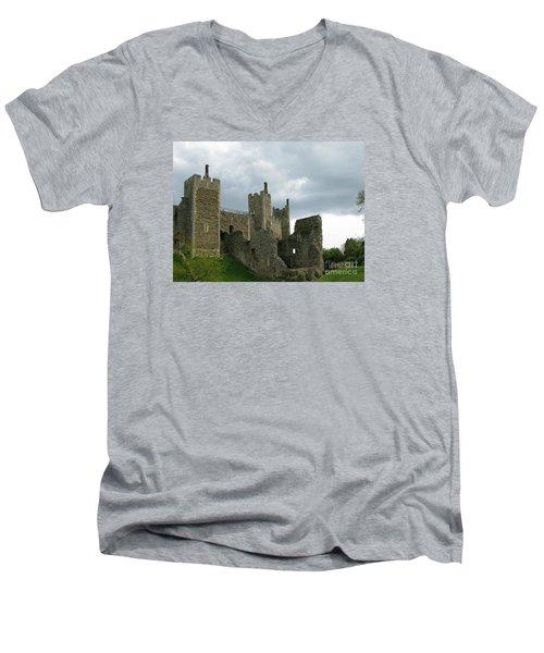 Castle Curtain Wall Men's V-Neck T-Shirt